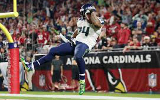 NFL warns RB Marshawn Lynch that future crotch grabbing will cost team 15-yard penalty