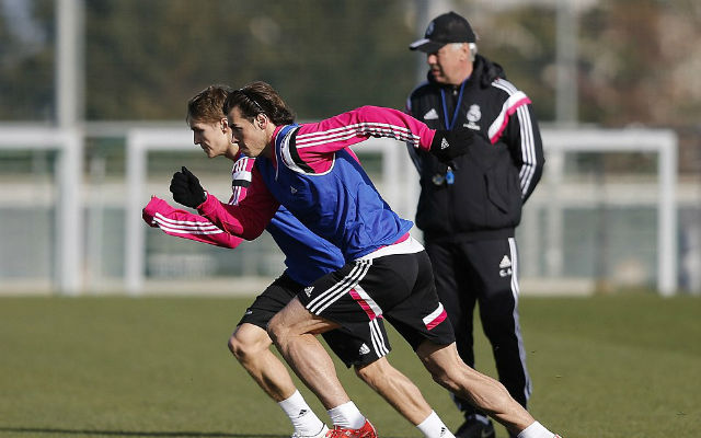 (Images) Martin Odegaard takes part in first Real Madrid training session and leaves eating Gareth Bale's dust