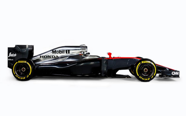 (Images) Formula One: McLaren release first photos of striking 2015 challenger