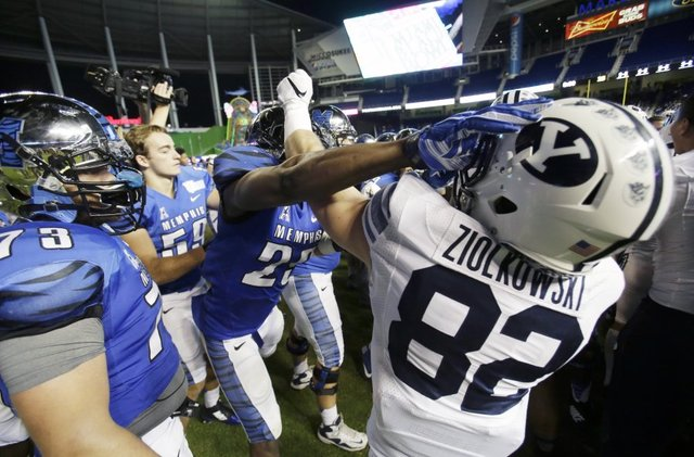CFB news: Memphis Tigers punishing 12 players for role in Miami Beach Bowl brawl