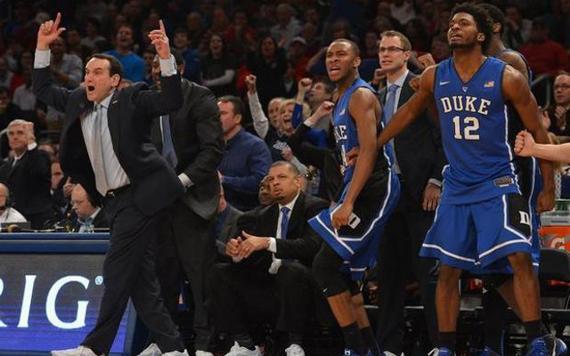 Duke head coach Mike Krzyzewski becomes first to reach 1,000 wins after 77-68 win over St. John's