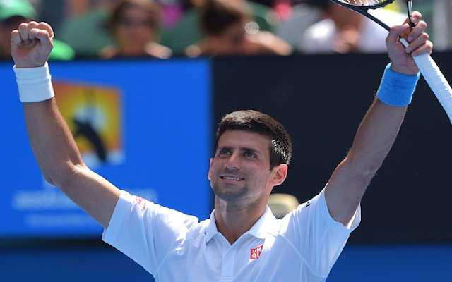 Australian Open 2015: Top seed Novak Djokovic waltzes into third round after easing past Andrey Kuznetsov