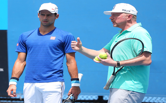 Australian Open 2015: Boris Becker hits out at Jim Courier following on-court interview with Novak Djokovic