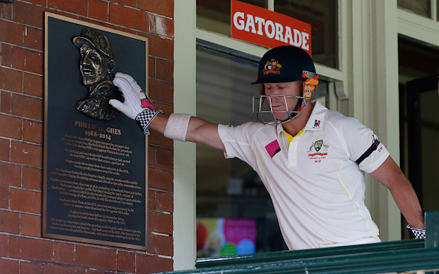 Australia v India: Australia receive Phillip Hughes inspiration during SCG Test