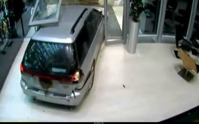(Video) Formula 1: Shocking CCTV footage released of Red Bull Racing trophy break-in at team factory
