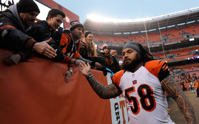 INJURY: Cincinnati Bengals LB Rey Maualuga leaves game with leg injury