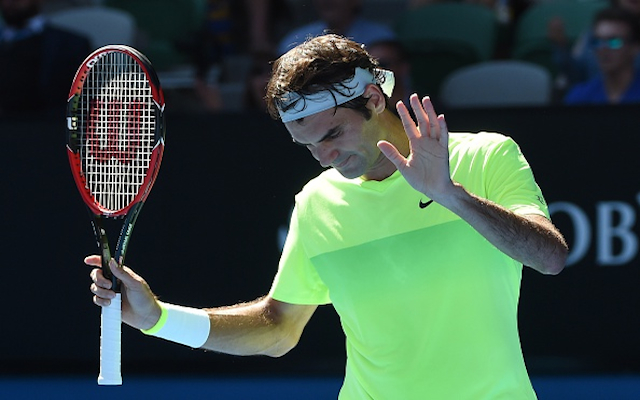 (Video) Australian Open 2015: Roger Federer produces ridiculous 'tweener' shot in clash with Andreas Seppi