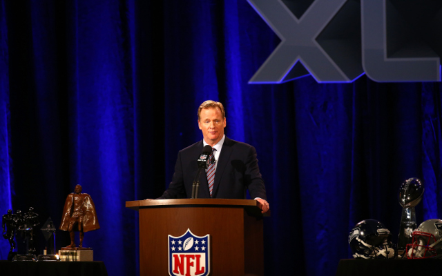 NFL commissioner Roger Goodell declines Super Bowl interview in Lynch-like fashion