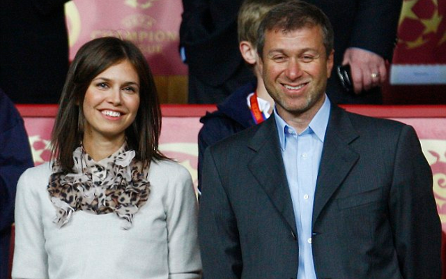 Chelsea owner Roman Abramovich married third wife in secret ceremony six years ago