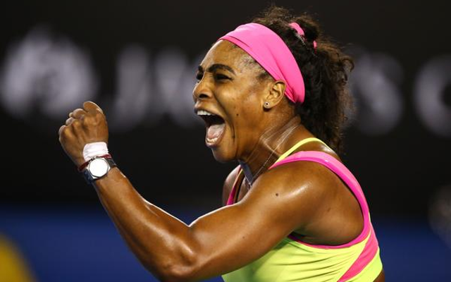 (Video) Serena Williams wins Australian Open after beating Maria Sharapova