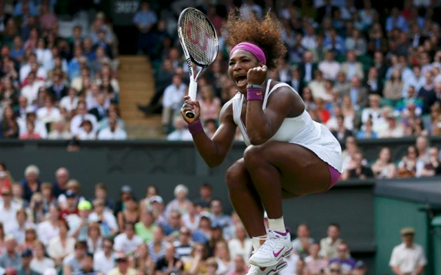 [Video] Wimbledon highlights: Serena Williams scrapes through, & Djokovic on course to retain