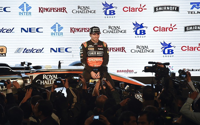 (Images) Formula 1: Force India unveil controverisal new-look 2015 challenger