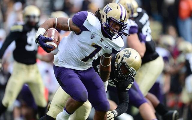 NFL DRAFT: Washington LB Shaq Thompson entering 2015 draft