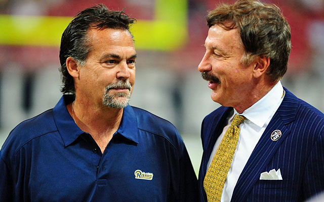 REPORT: St. Louis Rams owner plans to build stadium in Los Angeles