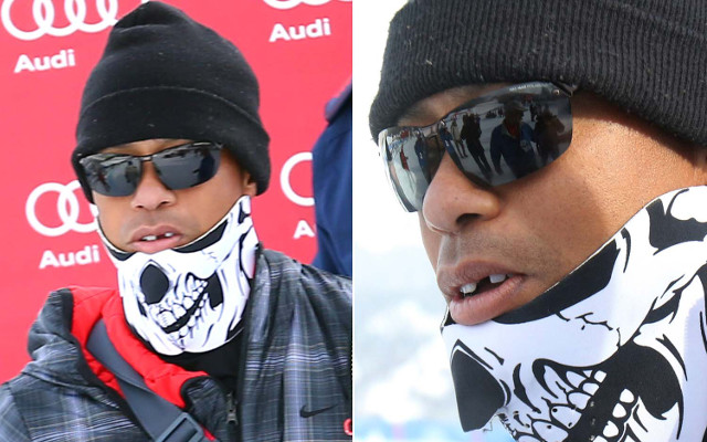 (Video) Tiger Woods discusses losing his tooth at girlfriend Lindsay Vonn's ski race!