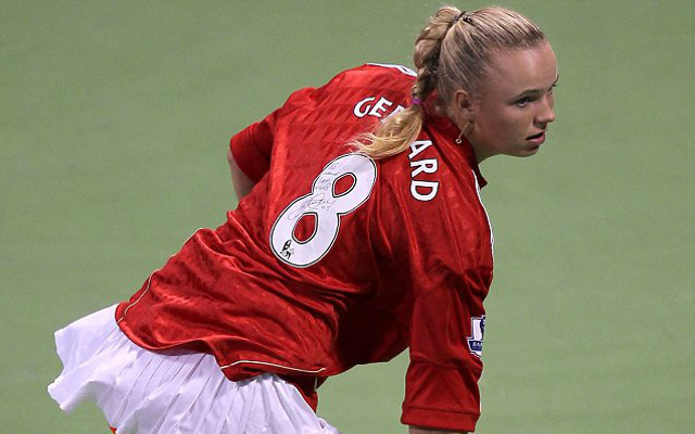 Caroline Wozniacki Unhappy About Liverpool Legend Steven Gerrard Leaving