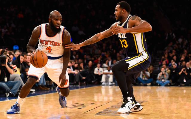 NBA: Great trick shot from Trevor Brooker for Utah Jazz vs Oklahoma City Thunder