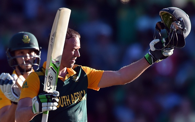 Watch this: AB de Villiers hits six after six after six after six, as South Africa brutalise West indies