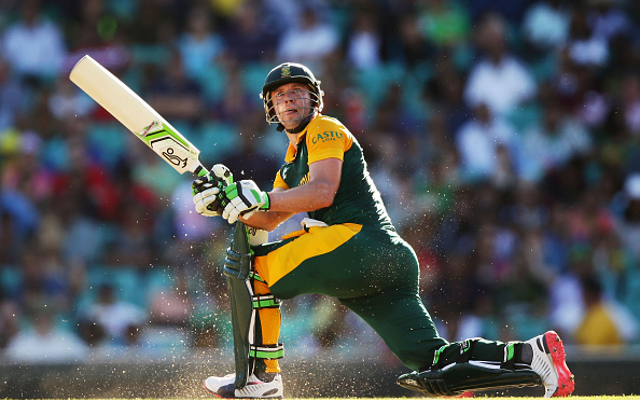 Twitter Explodes as AB de Villiers hits Barbaric 150!