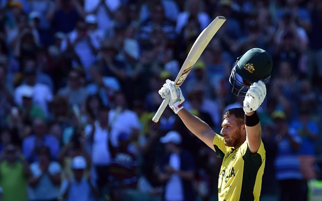 Twitter reacts to Aaron Finch's mammoth century in Australia v England