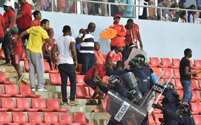 Ghana reach AFCON final after game marred by 'war zone' crowd trouble