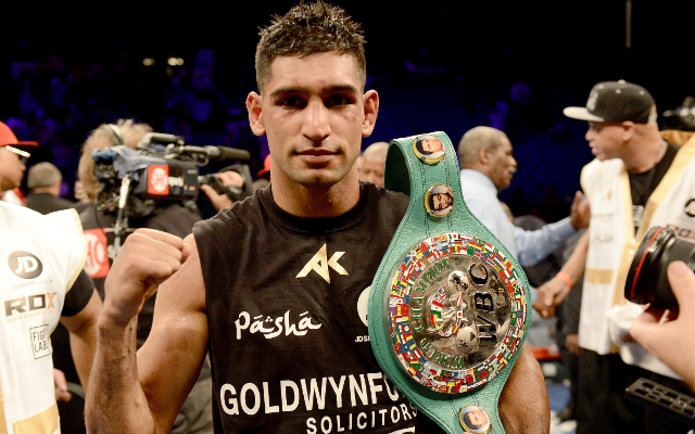 Boxing news: Amir Khan has four-man wishlist for Wembley bout