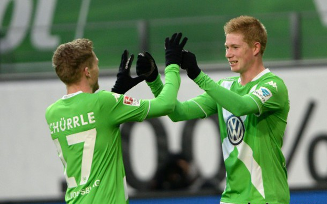 Man United's £30m move for Kevin De Bruyne hangs on Champions League qualification