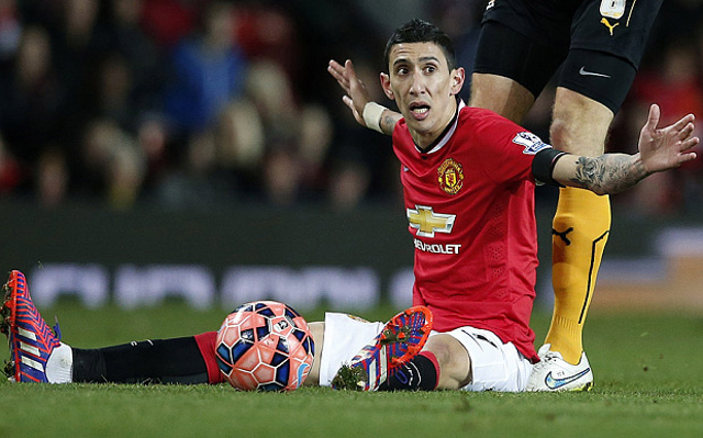 ANGRY Di Maria aims cheap PARTING SHOT at Man United