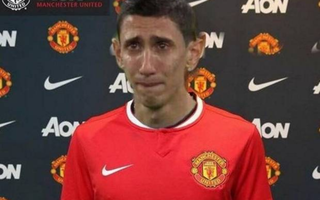 Huge blow for Manchester United as record signing Angel di Maria wants to leave