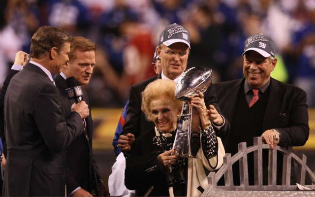 New York Giants matriarch Ann Mara dies after fall in ice storm