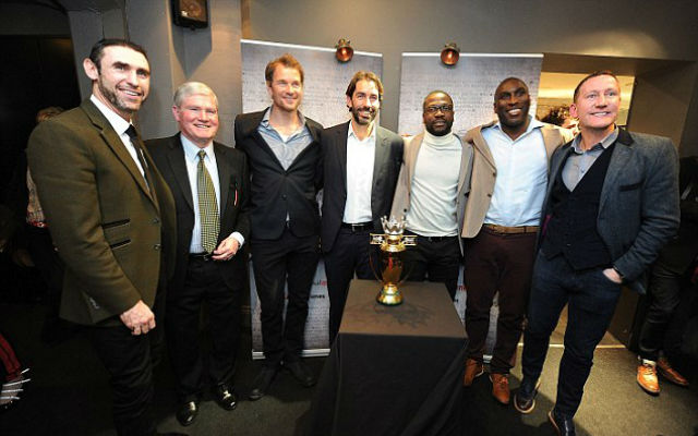 (Images) Arsenal 'invincibles' reunite for new TV documentary