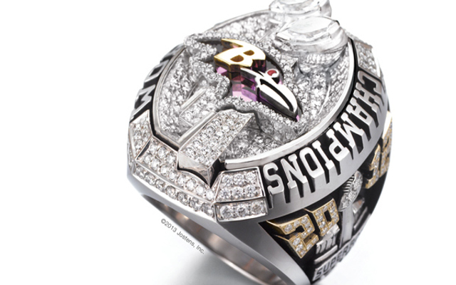 Baltimore Ravens legend Jamal Lewis auctions off Super Bowl XLVII ring for $50,820!
