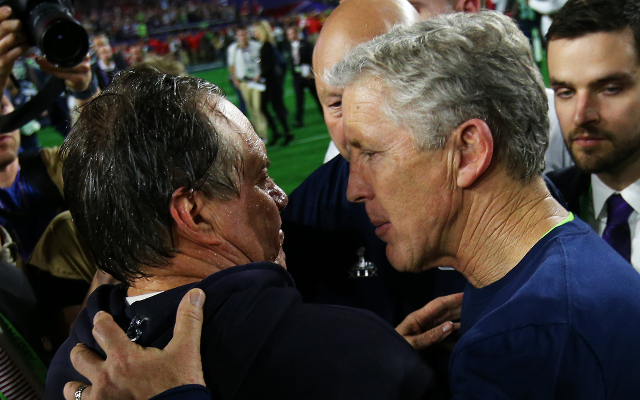 New England Patriots HC Bill Belichick calls Pete Carroll criticism 'out of line'