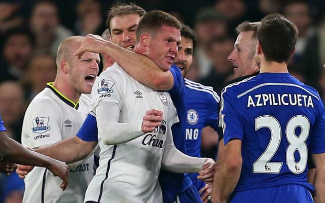 Branislav Ivanovic Chelsea James McCarthy Everton