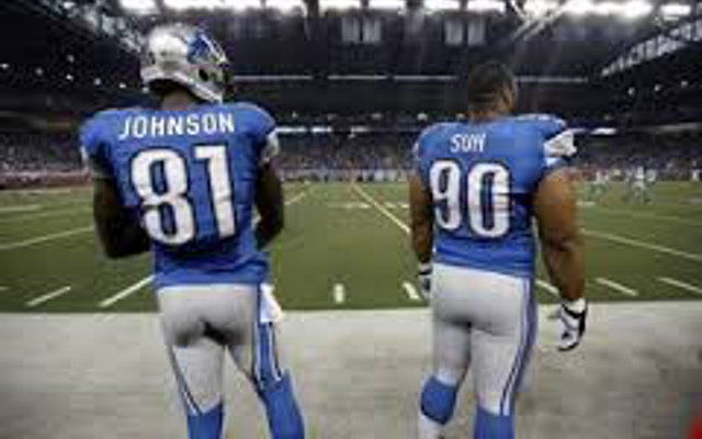 Detroit Lions WR Calvin Johnson wants DT Ndamukong Suh to stay