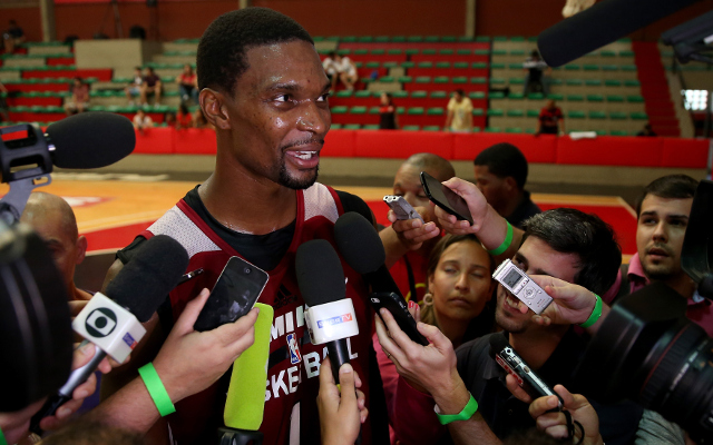 Miami Heat star Chris Bosh officially ruled out for rest of the season