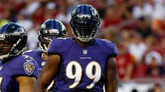 Baltimore Ravens terminate contract of DE Chris Canty