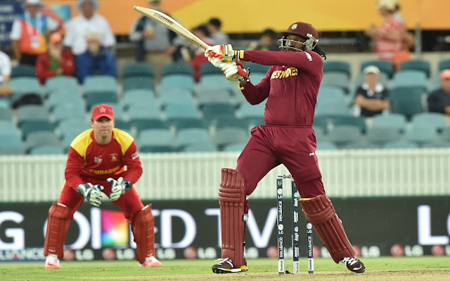 (Video) INCREDIBLE! West Indies star Chris Gayle smashes highest-ever Cricket World Cup score of 215!