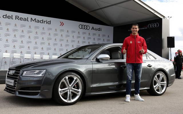 Audi gives cars to Real Madrid players