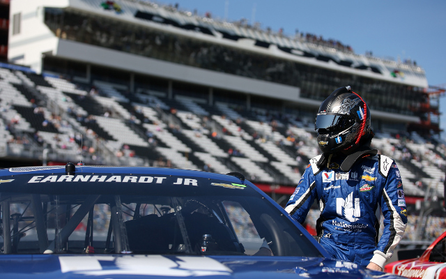 NASCAR champion Dale Earnhardt Jr. disqualified in Daytona 500 qualifying race