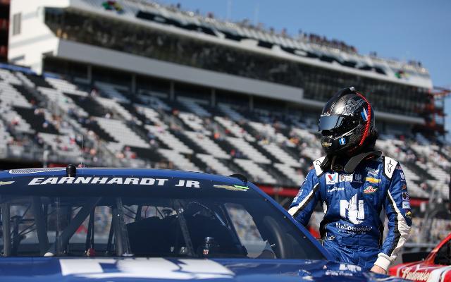 NASCAR champion Dale Earnhardt Jr. disqualified in Daytona 500 qualifying race