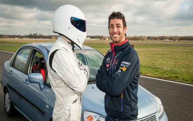 Daniel Ricciardo Top Gear: Red Bull F1 ace smashes Lewis Hamilton's lap record