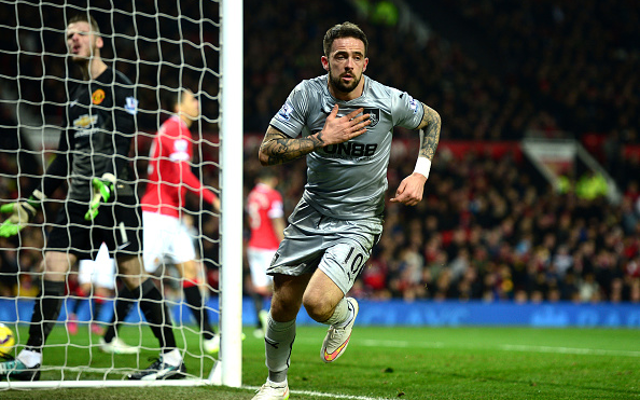 Danny Ings Burnley Man Utd