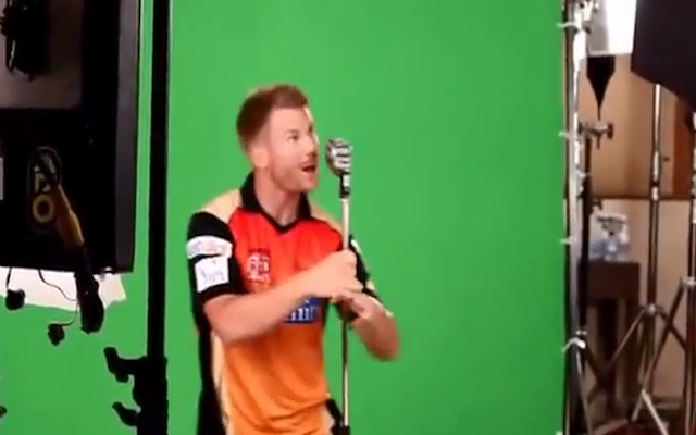 (Video) Australia star David Warner shows off dance moves during IPL advert for Sunrisers Hyderabad