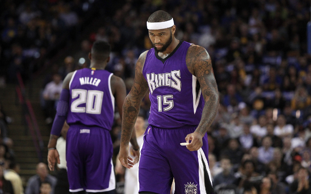 (Video) Sacramento Kings' DeMarcus Cousins slams teammates for lack of effort