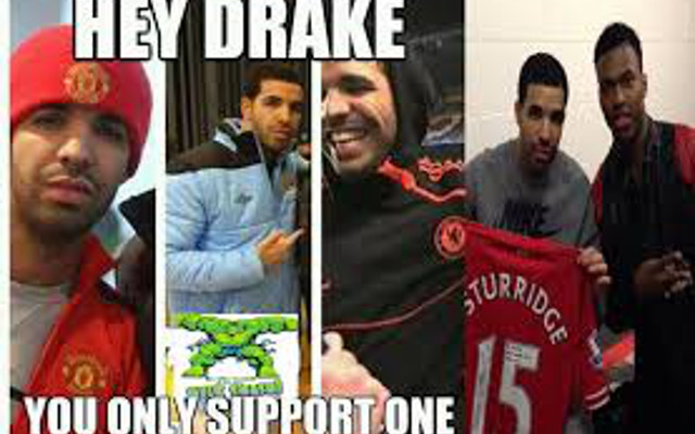 If you're reading this article it's too late! Chelsea and Man United fan Drake releases new mixtape album