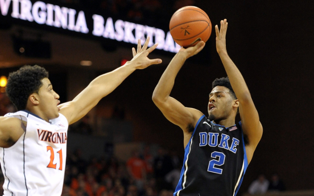 Breaking news: No. 4 Duke deals No. 2 Virginia their first loss of season with 69-63 win