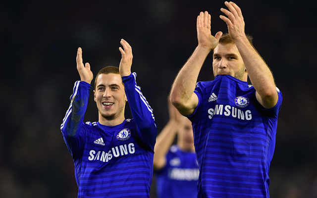 Eden Hazard new contract: Five more stars Chelsea MUST keep, including Branislav Ivanovic & under-rated midfielder