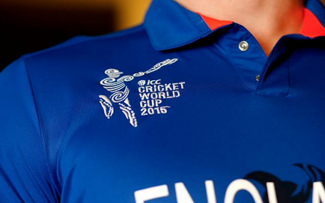(Images) Class! England reveal 2015 Cricket World Cup kit