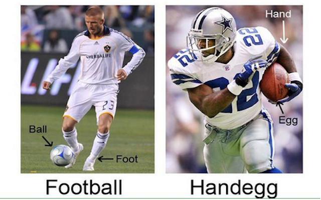 Super Bowl XLIX: Brits troll American football fans using #HandEgg hashtag during Seattle Seahawks v New England Patriots clash